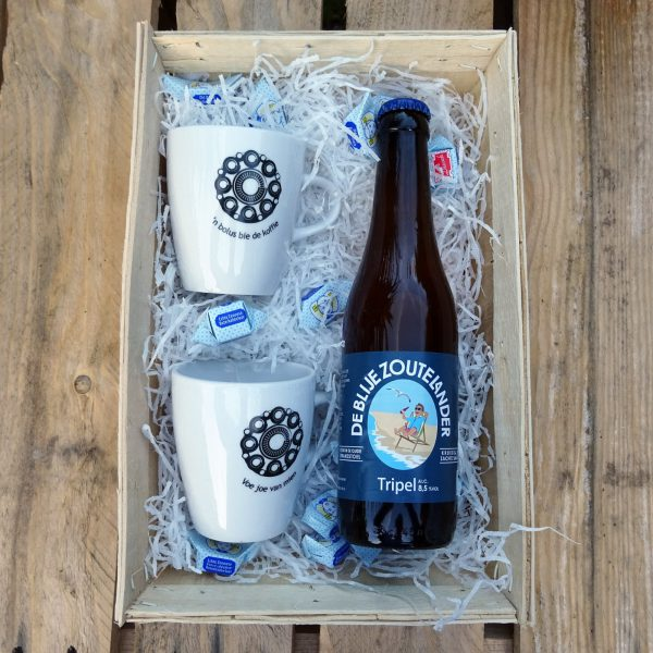 Servies met bier pakket
