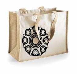 Zeeuwse tas Beige/blanco