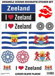 I love Zeeland stickers