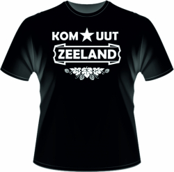 Kom uut Zeeland shirt