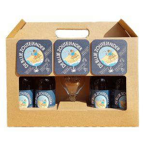 Zeeuws bierpakket de Blije Zoutelander
