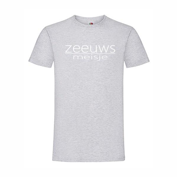 t-shirt zeeuws meisje grijs