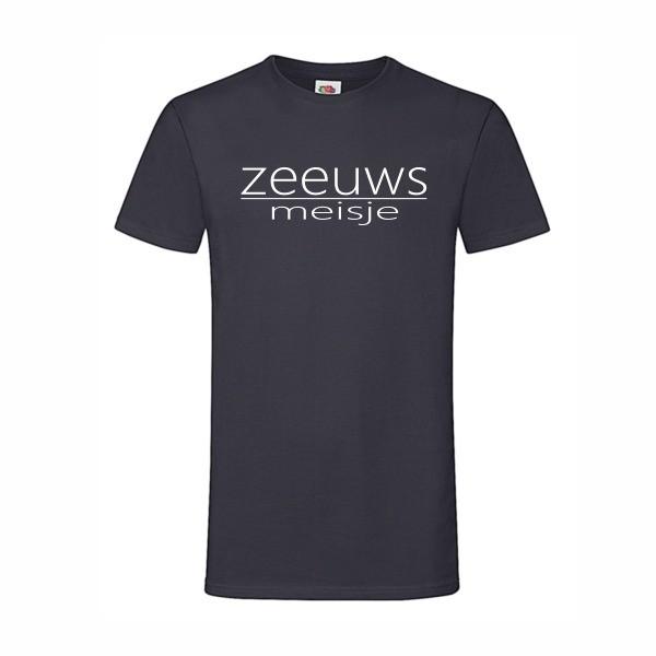 t-shirt zeeuws meisje navy blue