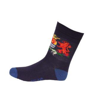 Heren sokken gekleurd zeeuws wapen