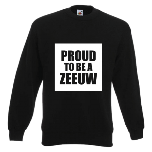 Sweater proud to be a Zeeuw