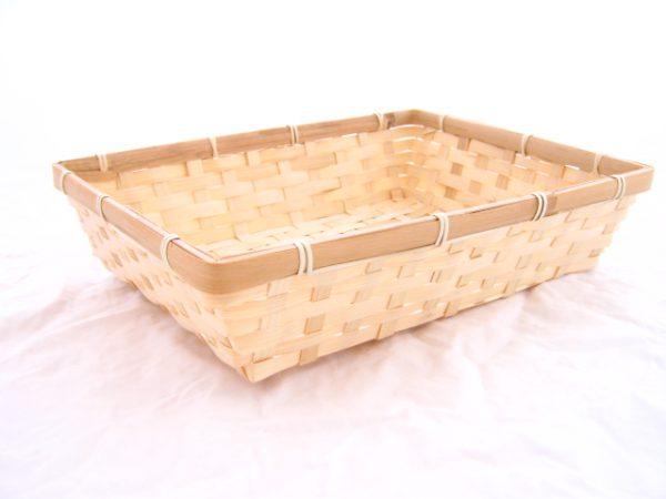 Bamboe mandje 30 cm voor Zeeuws pakket