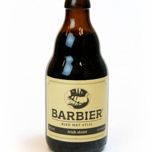 Barbier Irish stout bier (4.5%)