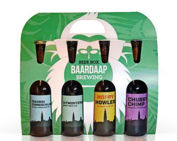 Beer box baardaap brewery