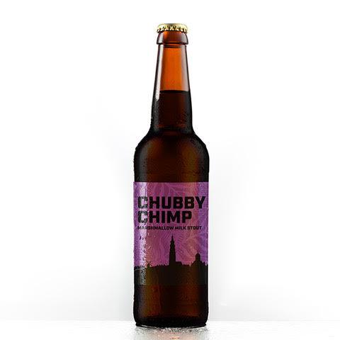 Chubby chimp bier