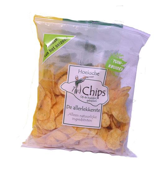 Hoeksche chips tuinkruiden