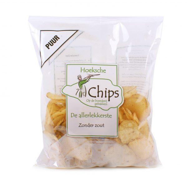 Hoeksche chips zoutloos
