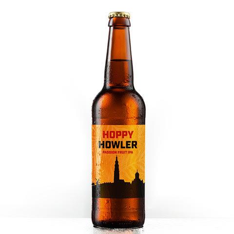 Hoppy Howler bier Passionfruit