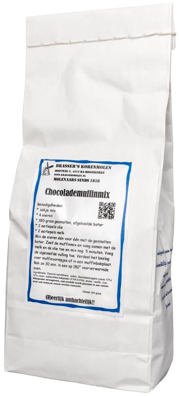 Chocolade muffin bakmix