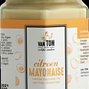 Citroen mayonaise van ton