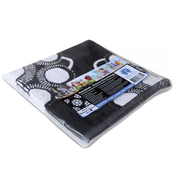 Keuken en handdoek Zeeuwse knop zwart foto 3