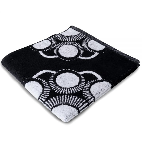 Keuken en handdoek Zeeuwse knop zwart foto 2
