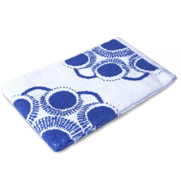 Gastendoekje Zeeuwse knop wit-blauw foto 2