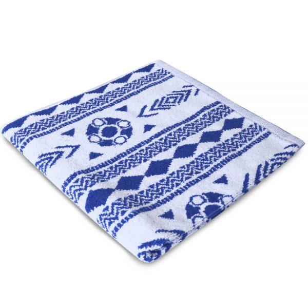 Zeeuws schortenbont keuken en handdoek wit blauw foto 2
