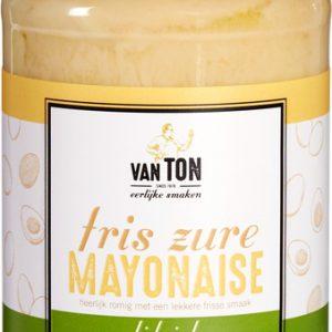Fris zure mayonaise van ton
