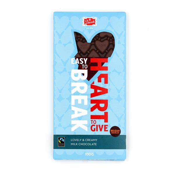 JB diesch melk chocolade 100 gram