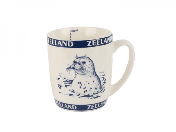 Zeeland mok met zeehond
