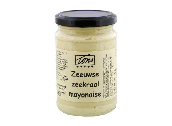Zeeuwse zeekraal mayonaise tons