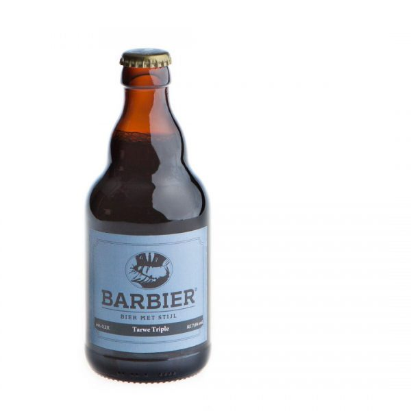Barbier tarwe bier tripel