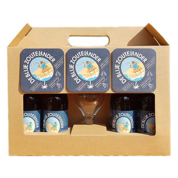 Blije zoutelander bierpakket