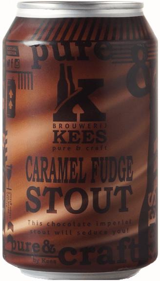 Caramel fudge bier van brouwerij kees