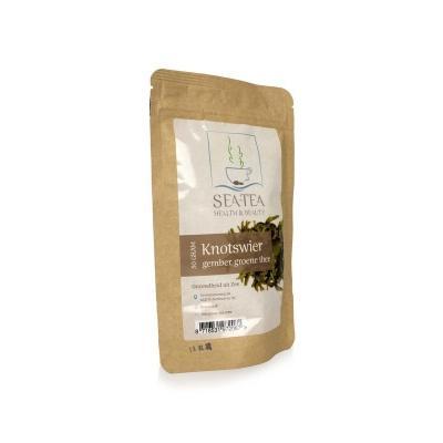 Knotswier gember, groene thee Sea-Tea
