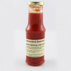 Paprika ketchup van spennekot
