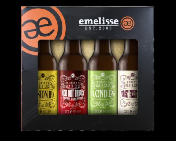 Bierpakket Emelisse bier 4 flesjes