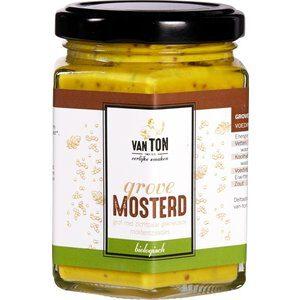 Bio mosterd grof van ton