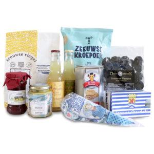 Veel lekkers uit Zeeland streekproductenpakket