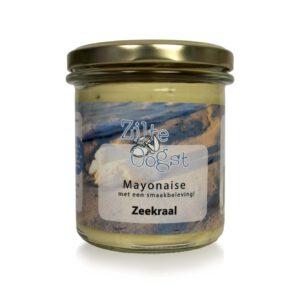 Zilte oogst zeekraal mayonaise