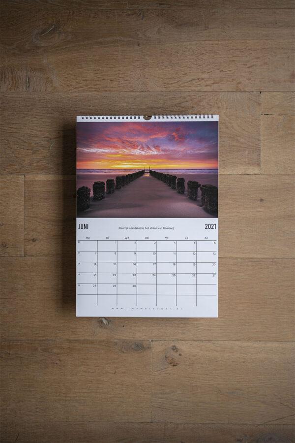 Zeeuwse kust kalender 2021 2