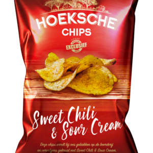 Hoeksche chips sweet chili en sour cream