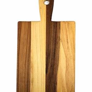 Zeeuws iepenhout snijplank kaasplank 15 x 30 cm