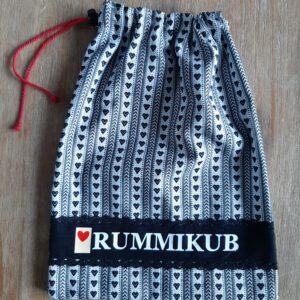 Rummikub zak zeeuws schortenbont zwart