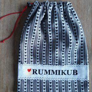Rummikub zak zeeuws schortenbont witte band
