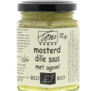 Mosterd dille agave saus van Ton