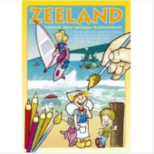 Zeeland kleur en knutselboek