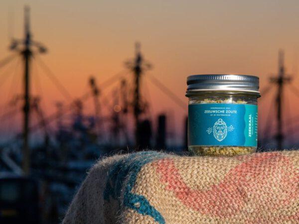 Zeeuwse zoute zeekraal in 100 gram pot
