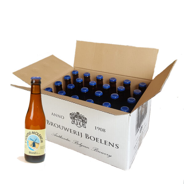 Doos 't zoutse molentje blond bier zoutelande