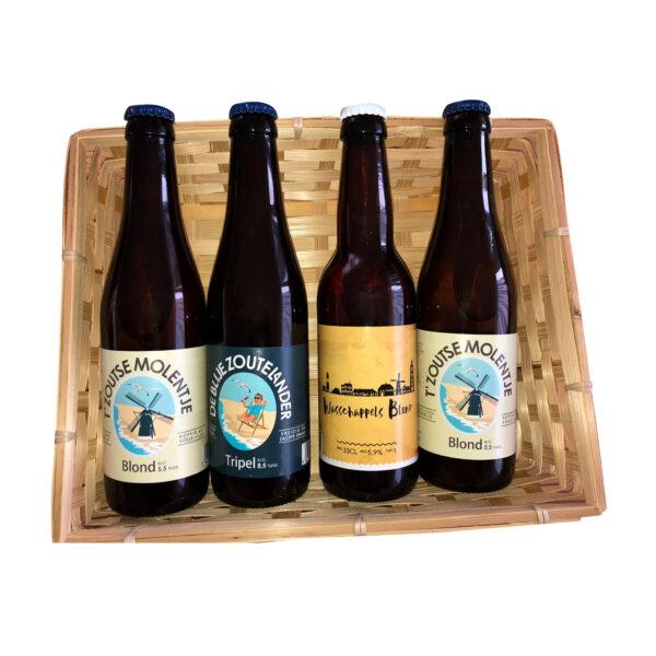 Thuisdrink tripel blond bierpakket