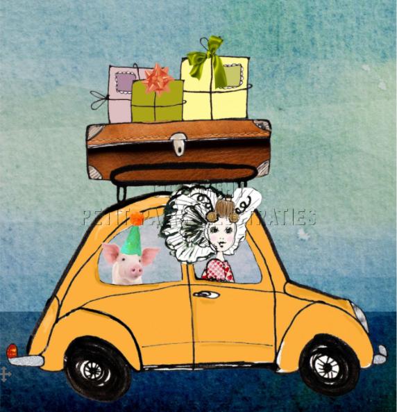 Zeeuwse auto cadeau kaart