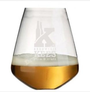 Bierglas brouwerij kees zonder poot