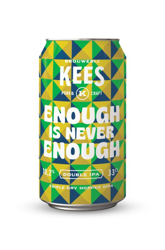 Brouwerij Kees enough is never enough bier