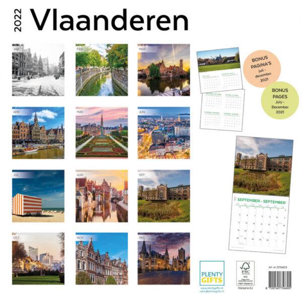 Vlaanderen kalender 2022 2