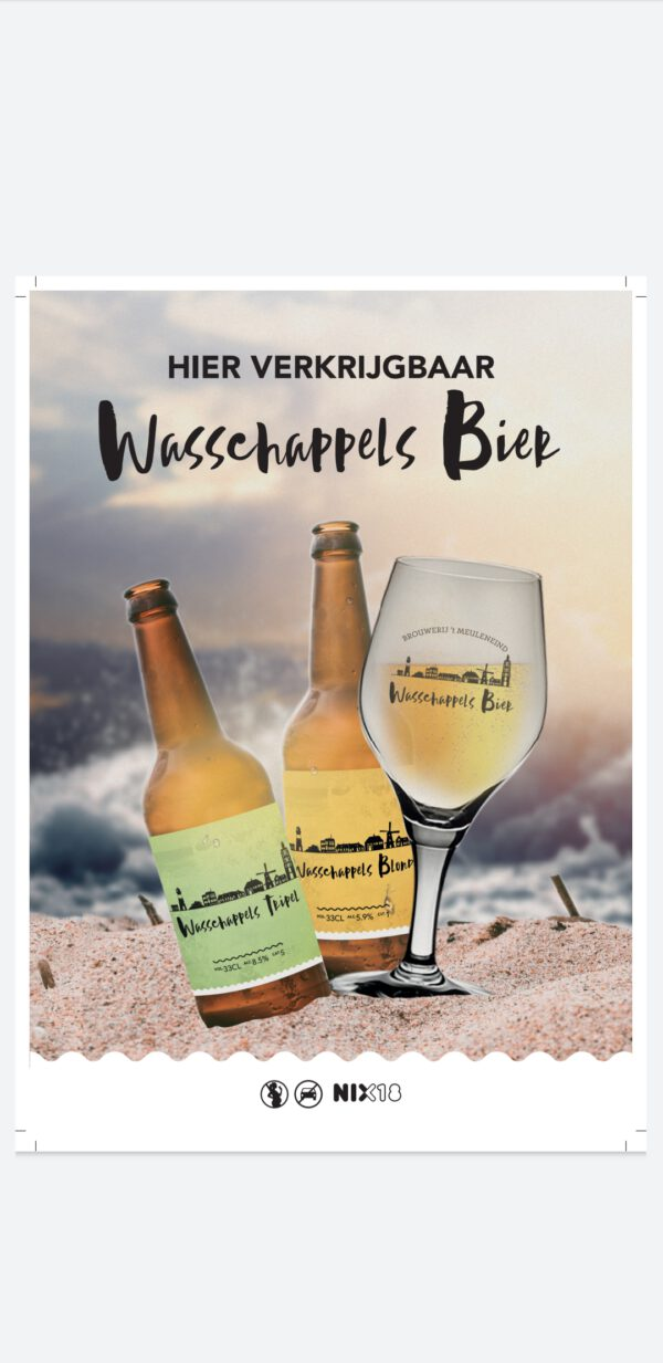 Wasschappels blond en tripel bier